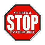 Stop Liberal Psychobabble Conservative T-shirts & 