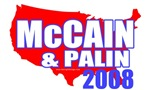 McCain / Palin USA T-shirts & Gifts