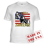 Patriotic Let's Roll America T-shirts & Apparel