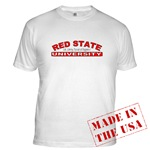 Red State University T-shirts & Apparel