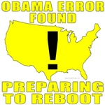 Obama Error Found T-shirts & Gifts