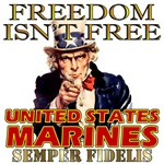 United States Marine Corps Freedom Isn't Free
