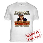U.S. Marines Freedom Isn't Free T-shirts