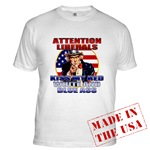 Uncle Sam Anti Liberal T-shirts & Clothing