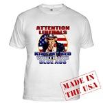 Uncle Sam Anti Liberal T-shirts & Clothing
