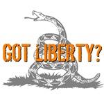 Got Liberty Rattlesnake T-shirts & Gifts