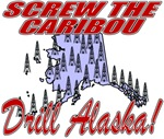 Screw Caribou (New) T shirts & Apparel