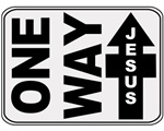 One Way Jesus Christian T-shirts & Gifts