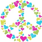 Love in Peace pastel