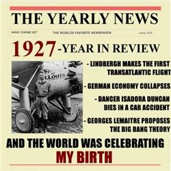 born in 1927 birthday gift
