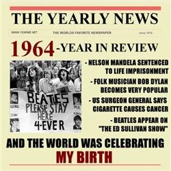 born in 1964 birthday gift