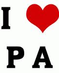I Love P A