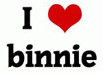 I Love binnie