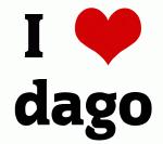 I Love dago