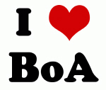 I Love BoA