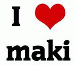 I Love maki