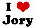 I Love Jory
