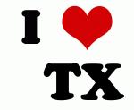 I Love    TX