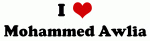 I Love Mohammed Awlia