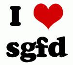 I Love sgfd