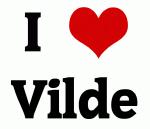 I Love Vilde