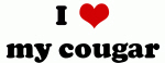 I Love my cougar