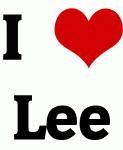 I Love Lee