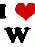 I Love W