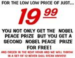 Nobel Peace Prize BOGO