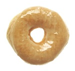 Donut raised glazed