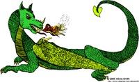 Flamin' Green Dragon