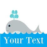 Personalizable Gray Whale