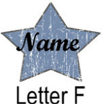 Blue Star names - Letter F