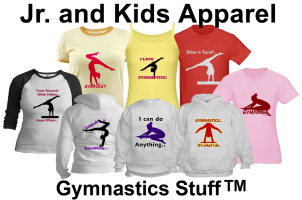 Gymnastics Apparel: T-shirts & Hoodies (Kids & Jr)