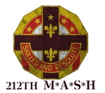 212th MASH - Skilled and Resolute - Vintage