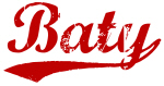 Baty (red vintage)