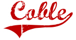 Coble (red vintage)
