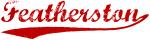 Featherston (red vintage)