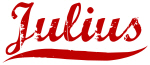 Julius (red vintage)