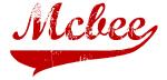 Mcbee (red vintage)