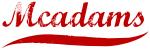 Mcadams (red vintage)