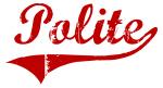 Polite (red vintage)