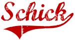 Schick (red vintage)