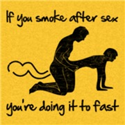 Smoke after sex