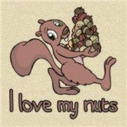 I love my nuts