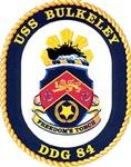 USS Bulkeley DDG 84 US Navy Ship