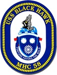 USS Black Hawk MHC 58 US Navy Ship