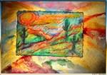 Colorful southwest art