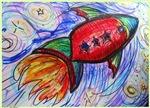 Spaceship, fun art