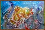 Goldfish! fish art